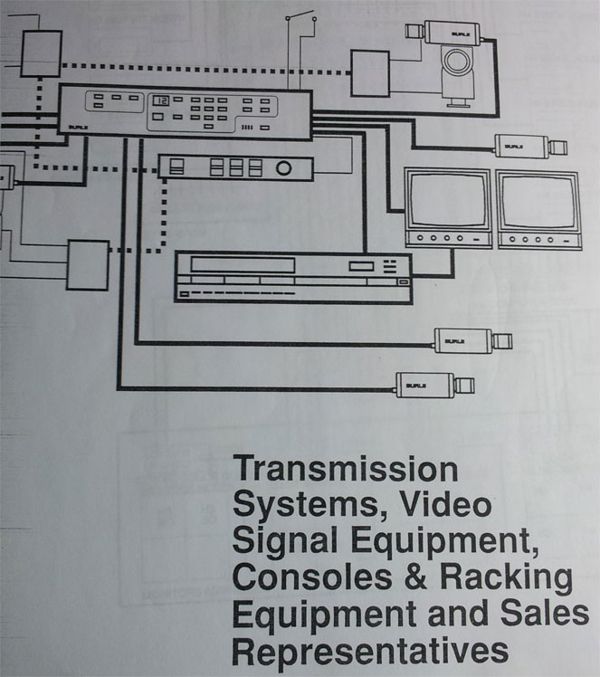 Closed Circuit Television Diagram
